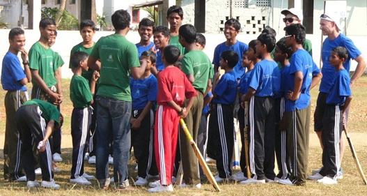 Darren and Jordan – India V Australia – New Hope India visit.