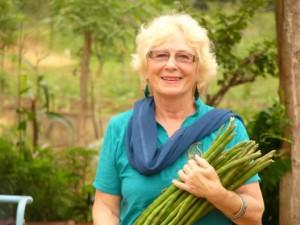 Trustees Visit India - Drum Sticks