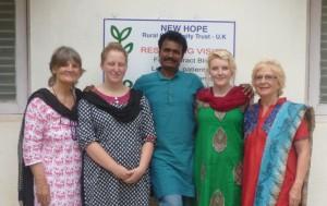 Trustees Visit India - Eliazar
