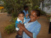 Mother & HIV Child